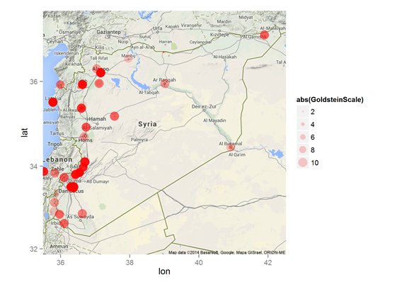 Tracking the crisis in syria jakub langrs blog business ai map of syria gumiabroncs Gallery